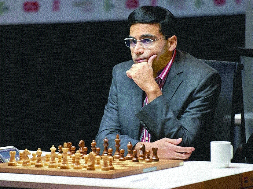 Anand beats Caruana, bounces back in Norway