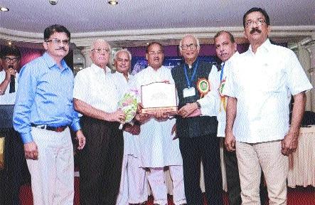 Tirupati Urban Co-op Bank bags award