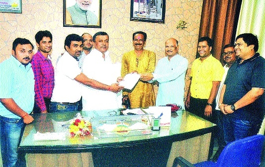 MPCTGEA thanks MoS Sharad Jain for fulfilling their pending demands