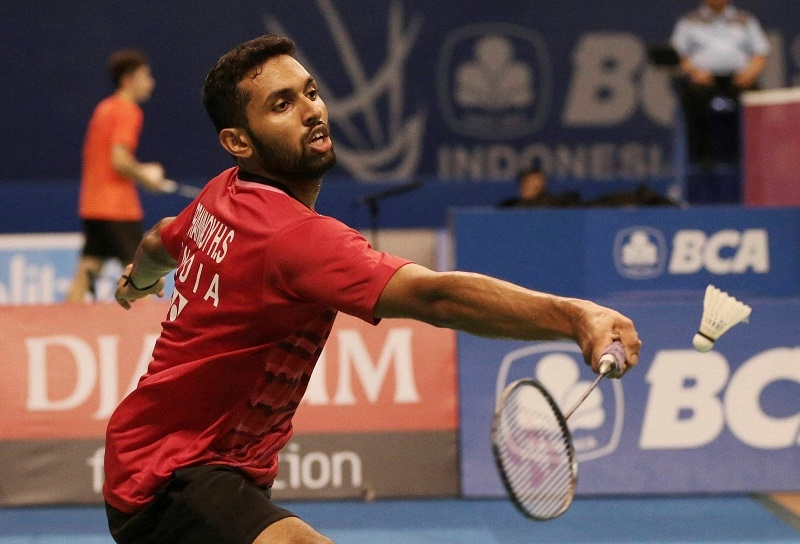 Prannoy tames the dragon
