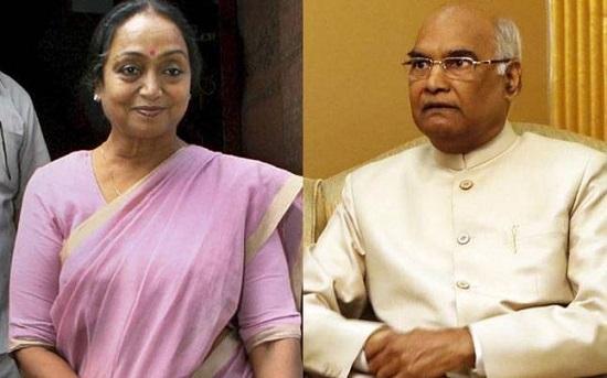 It's Meira Kumar vs Kovind