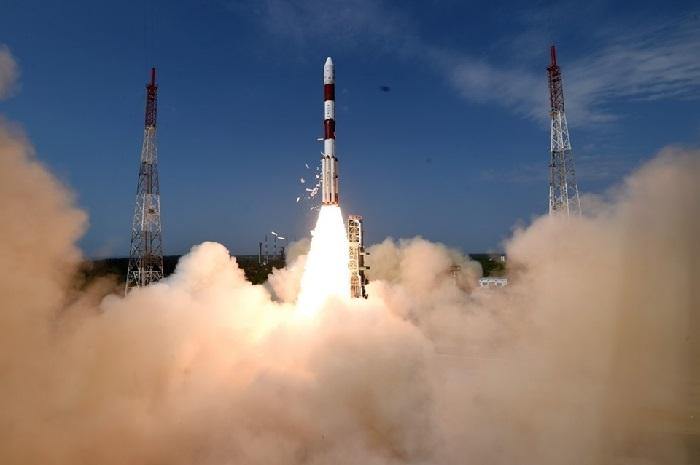ISRO launches  PSLVC rocket  from Sriharikota in Andhra Pradesh
