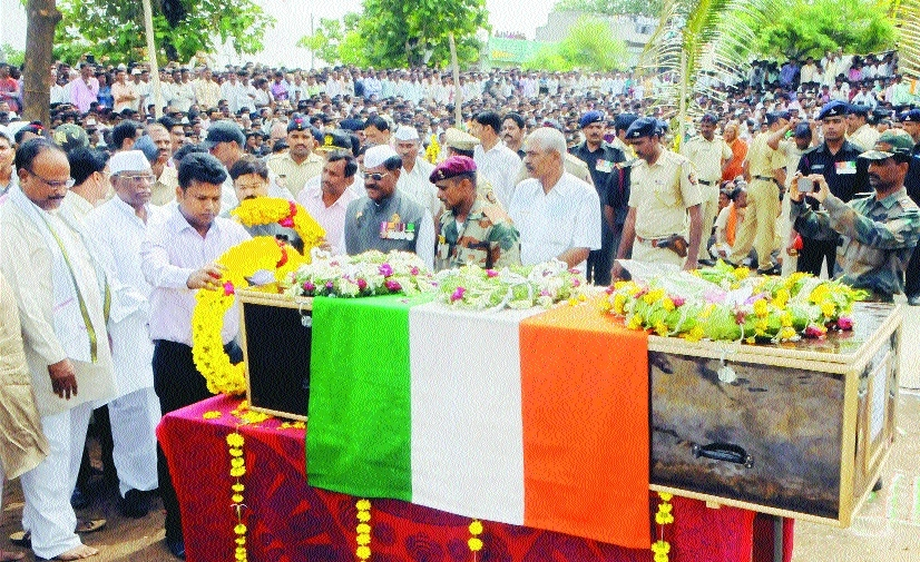 Jawan cremated on son's b'day