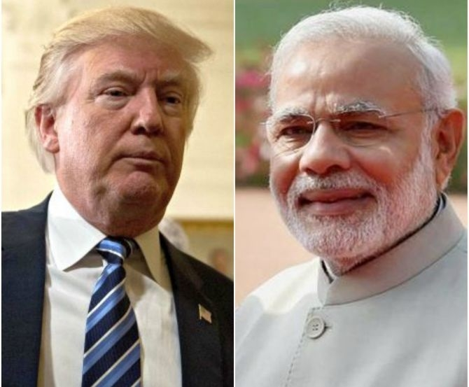 Modi 1st world leader to have dinner with Trump