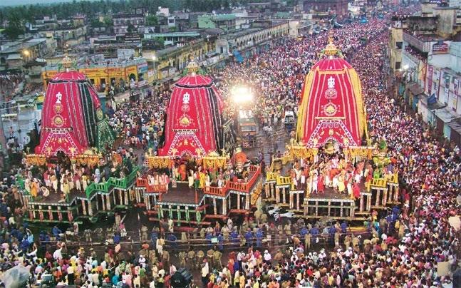 Lord Jagannath's Rath Yatra begins in Puri