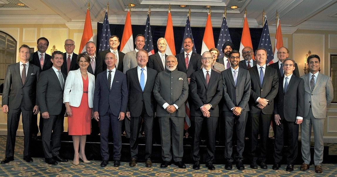 PM invites US CEOs to invest in India