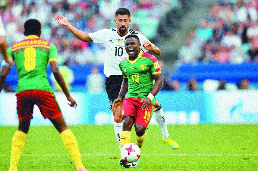 Germany, Chile make it to last four