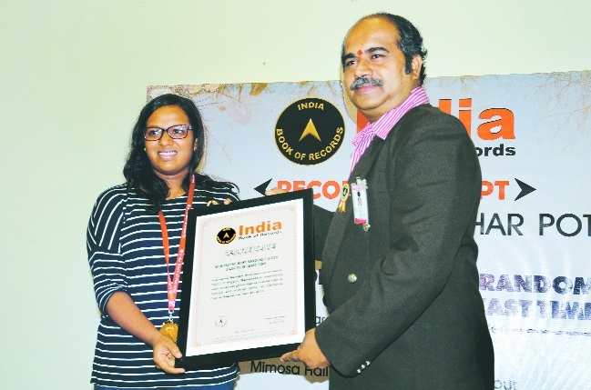 Vaishnavi Pote creates new national record