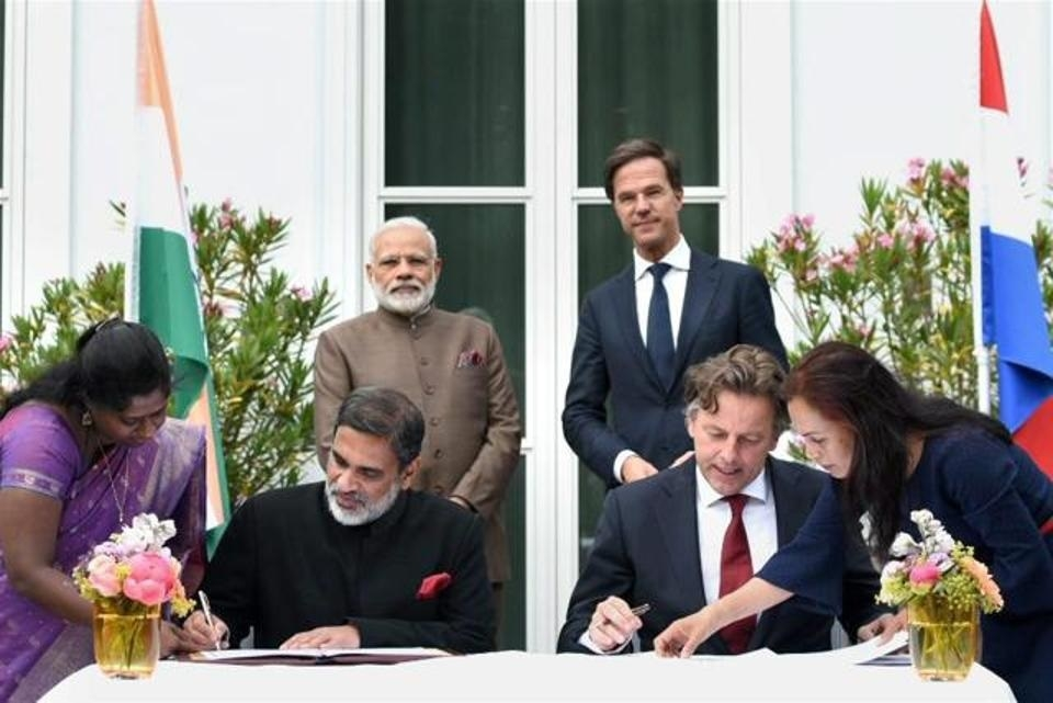 India, Netherlands sign 3 MoUs