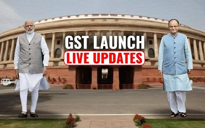 All set for GST midnight launch in Parlt