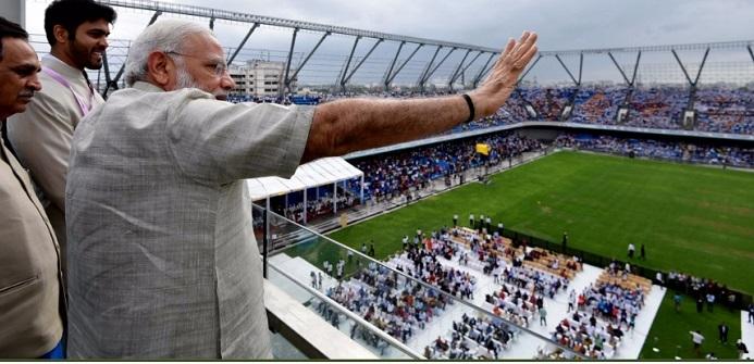 Prime Minister  Narendra Modi at  TransStadia  function