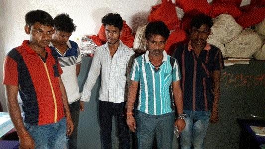 5 nabbed for gang rape