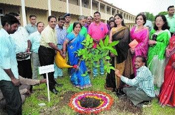 BHEL holds plantation drive