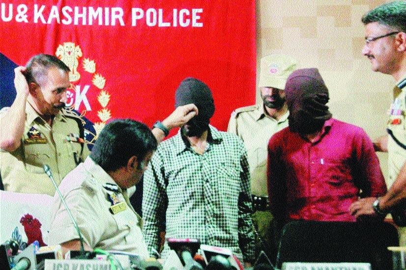 Kashmir police bust LeT module