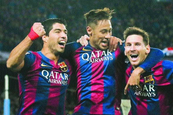 MSN to be part of Barca's US tour