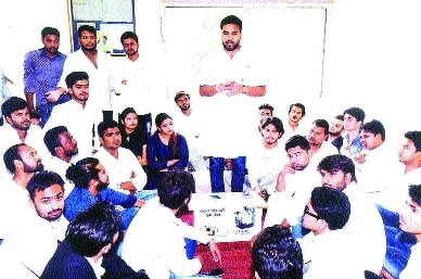 Important meeting of NSUI Jabalpur district unit held