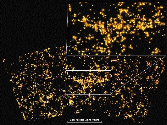 Indian scientists find a supercluster of galaxies, name it 'Saraswati'