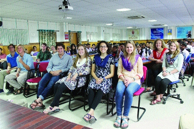 BSSS holds inter-cultural exchange programme with students from US