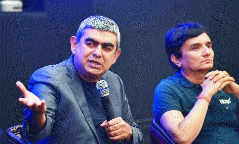 Infosys Q1 net at Rs 3,483 cr