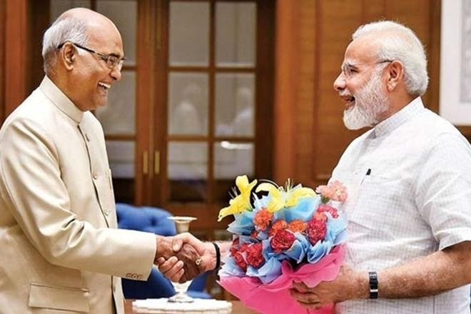 Modi congratulates Kovind in advance