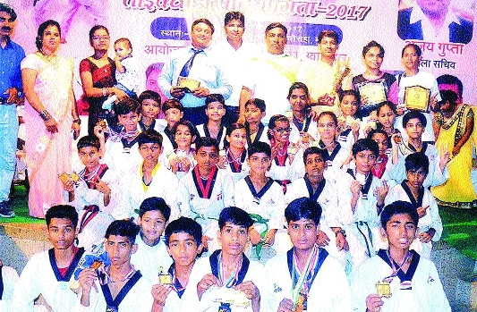 Jabalpur is State-level Taekwon-Do Champion