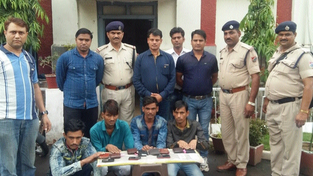 RPF nabs 4 thieves from two trains