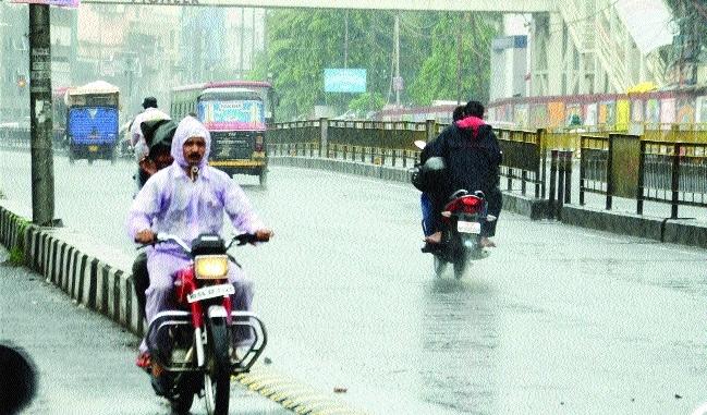 Heavy rainfall warning in many parts