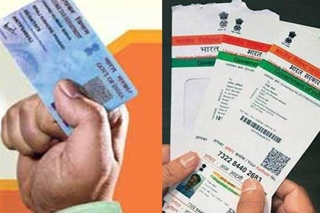 Aadhaar-PAN can be linked manually