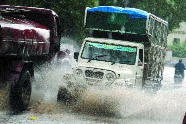 Rains bring back smile on Bhopalites' faces