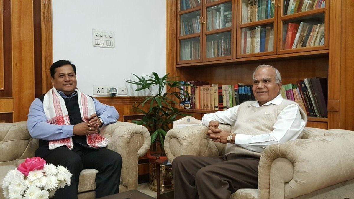 Assam Governor, CM greet Kovind