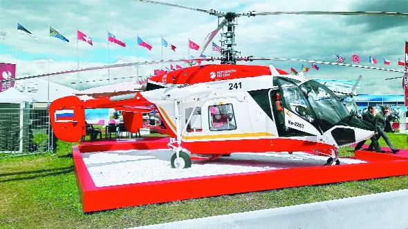 Delivery of Russian Kamov helicopters in 2 years