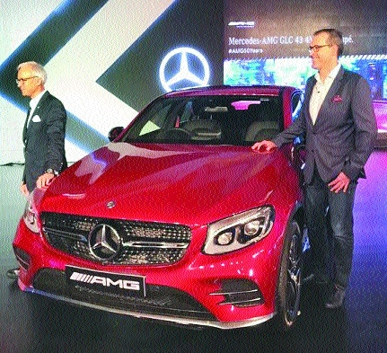 Merc launches AMG GLC 43 Coupe