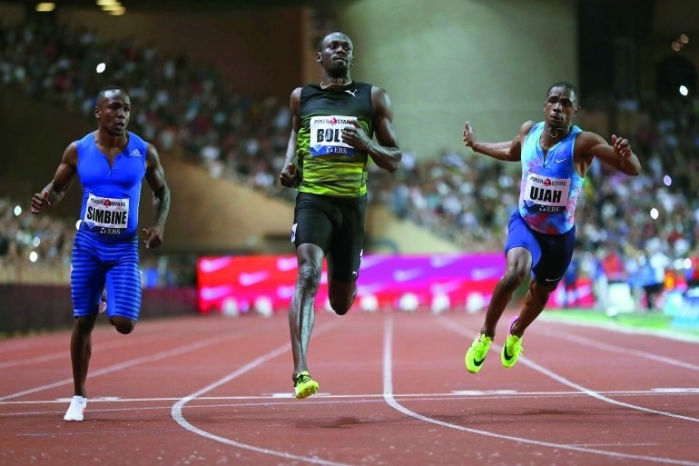 Bolt on right path to world 100m defence