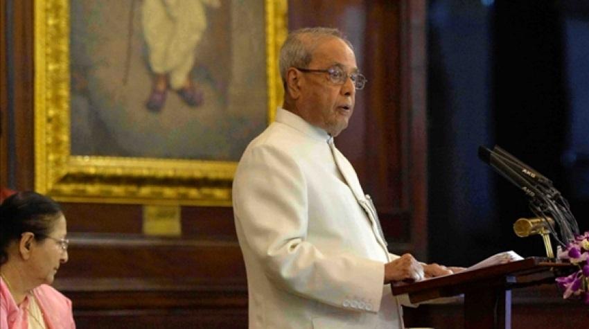 Pranab goes down memory lane in farewell speech