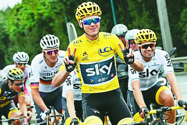 Near perfect Froome claims fourth Tour title
