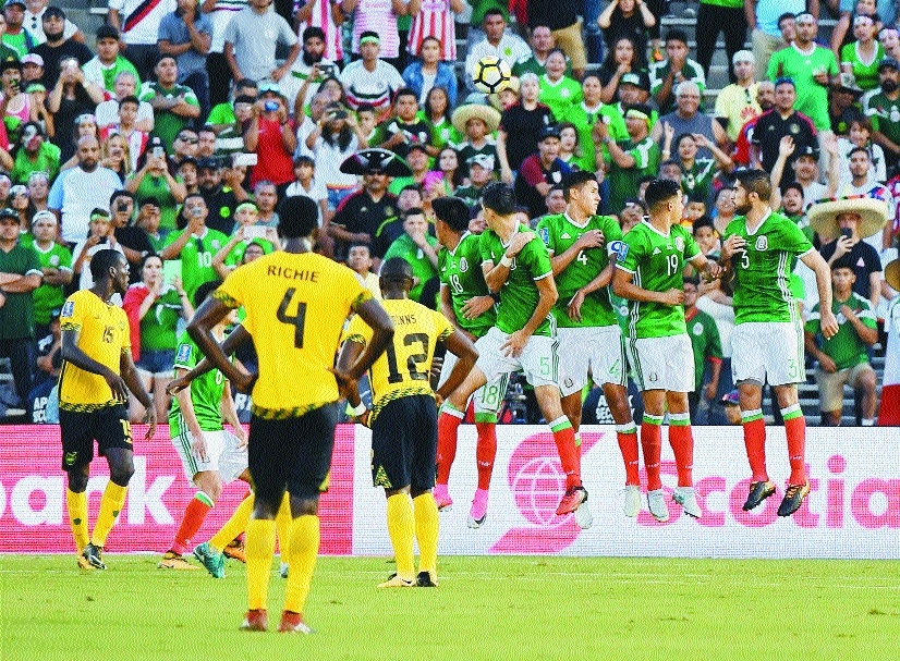Jamaica stun Mexico