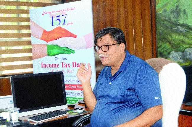I-T Deptt gets Rs 22,173 crore target