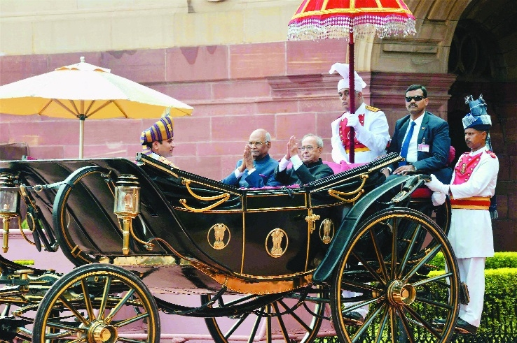 Kovind takes charge as President