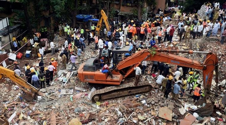 12 killed in Mumbai building collapse