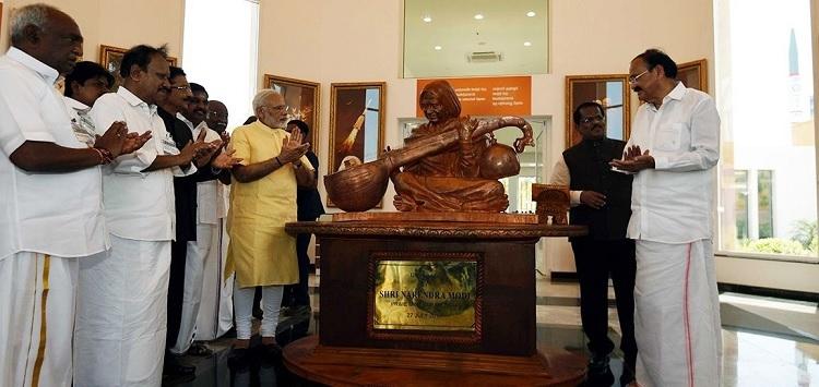 Modi inaugurates Kalam memorial in TN