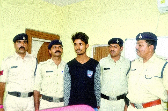 Absconding Pampam held from Purnia, Bihar
