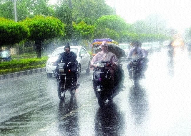 Heavy rainfall warning in parts of State