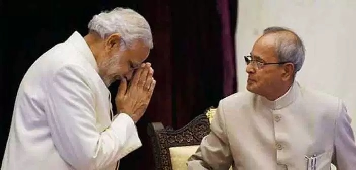 Pranab cared for me like a father would: Modi