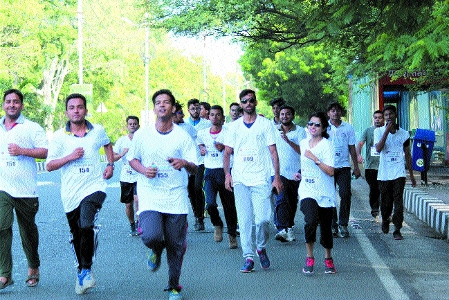 ICAI, Bhopal branch holds 'Run with GST' Marathon