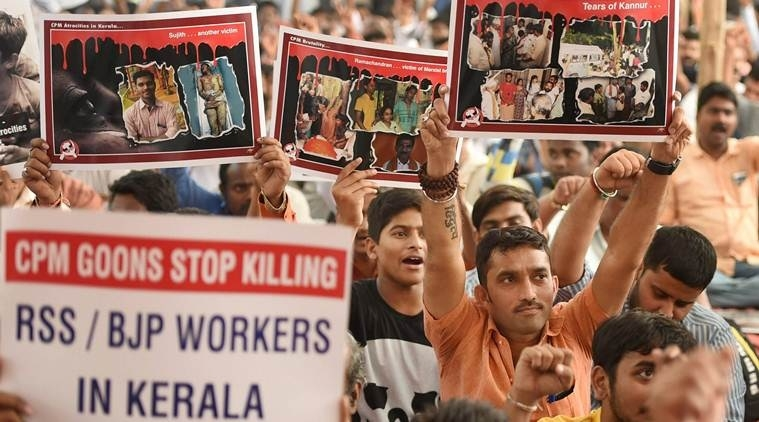 7 held in Kerala RSS worker's killing; another hurt in attack