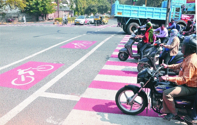 Nagpur, Chanda to have 'Streets With Cycle Track'
