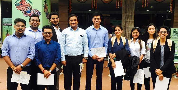 HNLU students attend Regional Conference on Environment