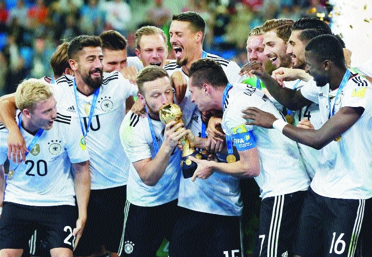 Stindl tap-in wins Germany title
