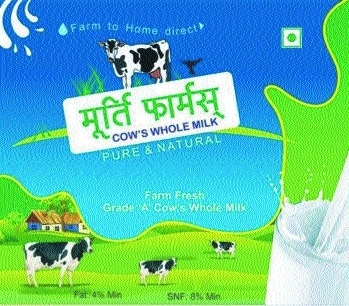 Excellent quality natural, A2 milk from Murthy Farms