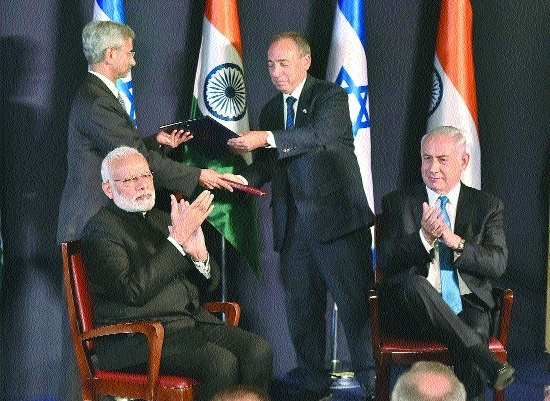 Will combat terror jointly: India-Israel